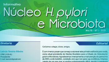Boletim Informativo H.pylori e Microbiota 2021 - Edição 01